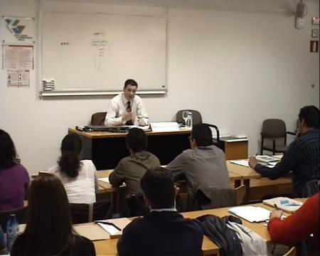 Ángel Fernández-Albor Baltar, catedrático de Dereito Mercanti na Universidade de Santiago de Compostela - Curso de Marcas